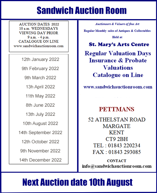 Events at St.Mary's Arts Centre Sandwich Kent
